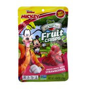 Brothers All Natural Disney Freeze-Dried Strawberry fruit crisps