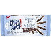 Christie Chips Ahoy! Thins Double Chocolate Christie Chips Ahoy! Thins Double Chocolate Cookies
