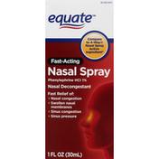 Equate Nasal Spray, Fast-Acting