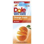 Dole No Pulp Orange Juice