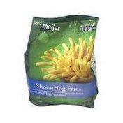 Meijer Shoestring Fries
