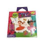 Peaceable Kingdom Ballerina Stickers