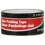 Dynamik Tape, Packing, Clear, 2 Inch