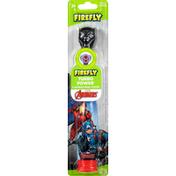 Firefly Toothbrush, Turbo Power, Marvel Avengers, Soft