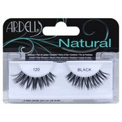 Ardell Lashes, Natural, 120 Black
