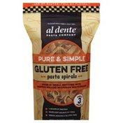 Al Dente Pasta Spirals, Gluten Free, Pure & Simple