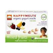 Happy Baby HappyMelts Kids Mixed Fruits Organic Yogurt Snacks - 6 PK
