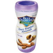Blue Diamond Almonds Oven Roasted No Salt Almonds