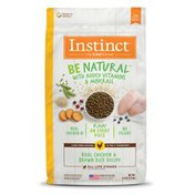 Instinct Be Natural Real Chicken & Brown Rice Recipe Dry Dog Food