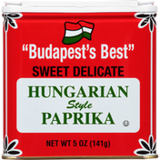 Paprika, Hungarian Style, Sweet Delicate
