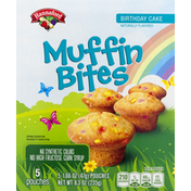 Hannaford Muffin Bites, Birthday Cake