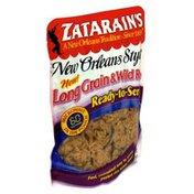 Zatarain's Long Grain & Wild Rice, Ready-to-Serve!