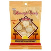 Crown Maple Homestyle Candy, Coconut Macarrons, Toasted, Bag