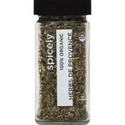 Spicely Organics Herbs De Provence, 100% Organic