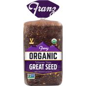 Franz Bread, Organic, Great Seed, Willamette Valley