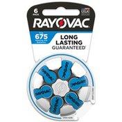 Rayovac Size 675 Batteries, 675 Batteries