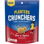 Planters Crunchers Hot n Spicy Crispy Coated Peanuts