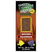 Omega One Super Veggie 100% Natural Brown Seaweed for All Algae Grazers
