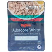 Hy-Vee Pole & Troll Caught Albacore White Premium Tuna In Water
