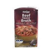 Meijer Beef Flavored Broth