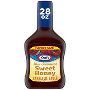 Kraft Sweet Honey Slow-Simmered Barbecue Sauce Family Size