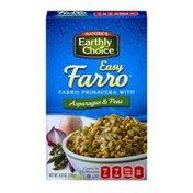 Nature's Earthly Choice Easy Farro Primavera with Asparagus & Peas