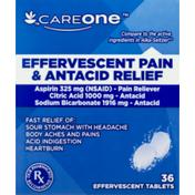 CareOne Effervescent Pain Relief, Original