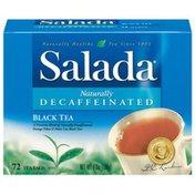 Salada Black Tea Naturally Decaffeinated Tea Bags