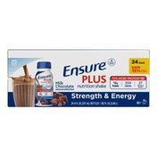 Ensure Plus Nutrition Shake Milk Chocolate Ready to Drink Bottles