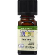 Aura Cacia Oil, Organic, Tea Tree