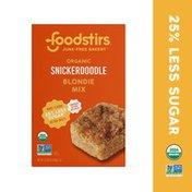 Foodstirs Junk Free Bakery Snickerdoodle Blondie Mix