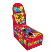 Ring Pop Twisted Individually Wrapped Candy Lollipop Suckers, Assorted Flavors