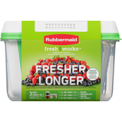Rubbermaid Food Storage Containers, 3 Pack