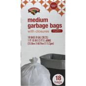 Hannaford 8-Gallon Medium Garbage Bags