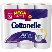 Cottonelle Ultra ComfortCare 2-Ply Mega Rolls Toilet Paper