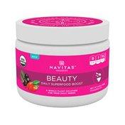 Navitas Organics Powdered Mix, Organic, Daily Superfood Boost, Beauty