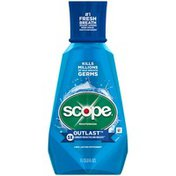 Scope Outlast Scope Outlast Long Lasting Peppermint Mouthwash 1 L Oral Care