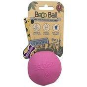 BecoThings Eco Friendly Treat & Chew Ball Pink Medium