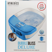 Homedics Bubble Bliss, Deluxe