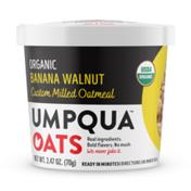 Umpqua Oats Organic Banana Walnut, Custom Milled Oatmeal