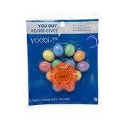 Yoobi Multicolor Star Chalk Holder With 12-Chalks