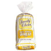 Family Choice Breads 100% Whole Wheat Bread