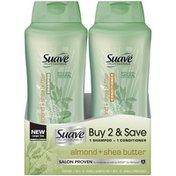 Suave Professionals Almond + Shea Butter Shampoo & Conditioner