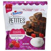 Hostess Brownie Delights, Chocolate Raspberry