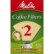 Melitta Coffee Filters, No. 2, Super Premium