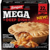 Banquet Mega Deep Dish Buffalo Style Chicken Mac N Cheese