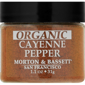 Morton & Bassett Spices Cayenne Pepper, Organic