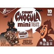 Count Chocula Cereal Bar, Chocolatey, Mini Treats