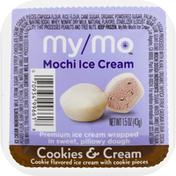 My/Mo Mochi Ice Cream, Cookies & Cream