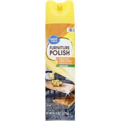 Great Value Furniture Polish, Lemon Scent